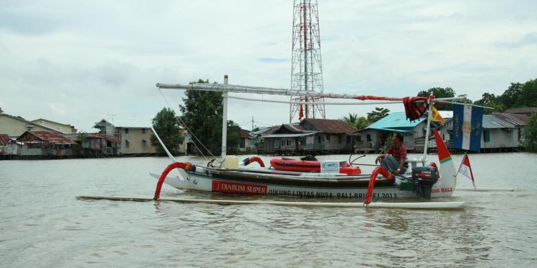 Kisah Pelayaran Effendy Soleman dari Bali ke Brunei Dibukukan