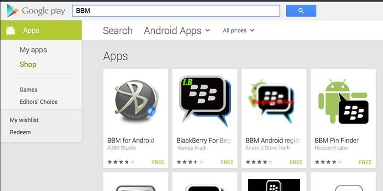 cara crack aplikasi blackberry