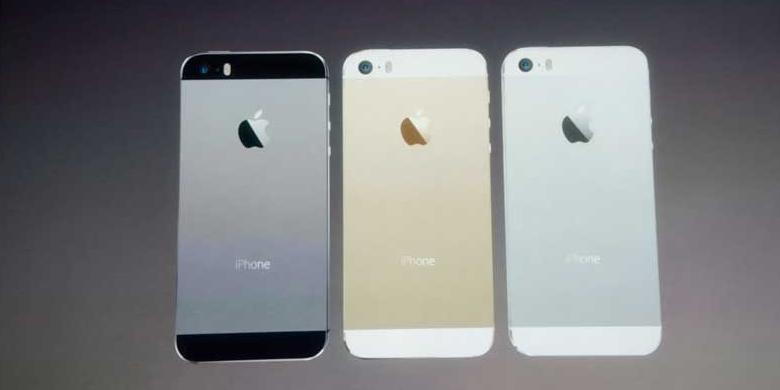 """iPhone5S, Pertama dengan Prosesor """"64-bit"""""""