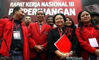 Suara \ Pengurus Sandal Jepit\ Pun Didengar Langsung Megawati