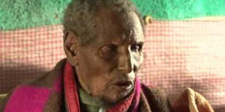 Petani Ethiopia ini berumur 160 tahun !