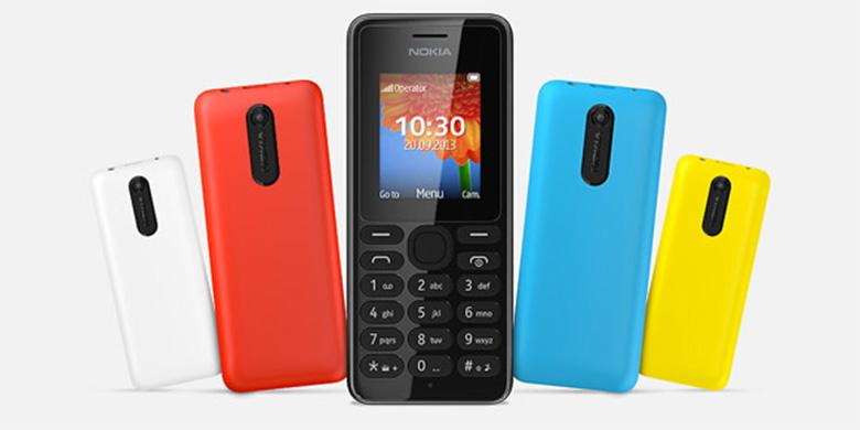 Tekno - Nokia 108, Ponsel Berkamera Rp 300 ribu-an