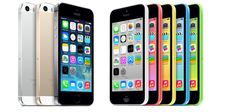 Penjualan iPhone 5S dan 5C Catat Rekor