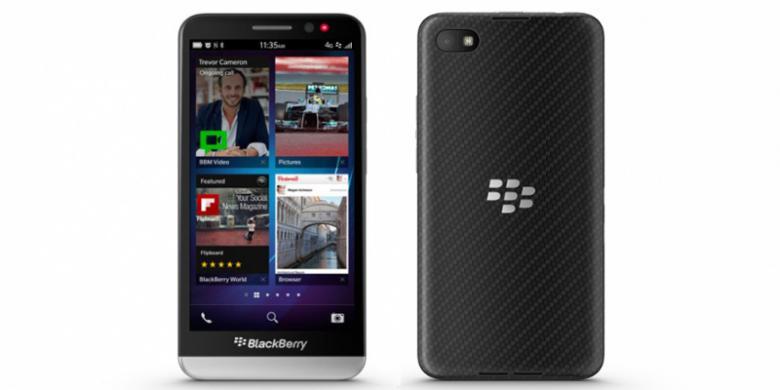 Ini Dia Bocoran Harga BlackBerry Z30