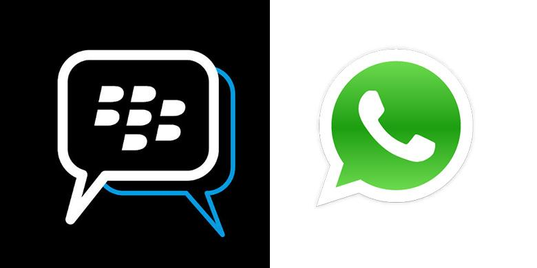 BlackBerry Messenger Vs WhatsApp, Bagus Mana?