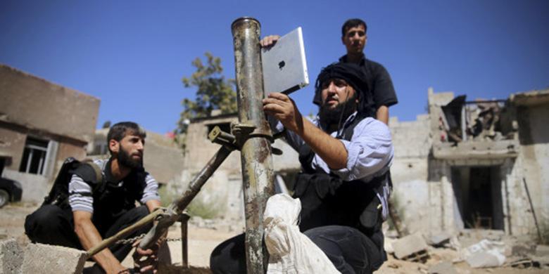 Tekno - iPad Dipakai Perang di Suriah