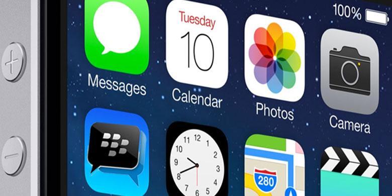 BlackBerry Tersedia Di iPhone Dan iOS Lainnya