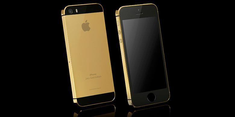 iPhone 5S Versi Mewah Dijual Rp 33 Juta