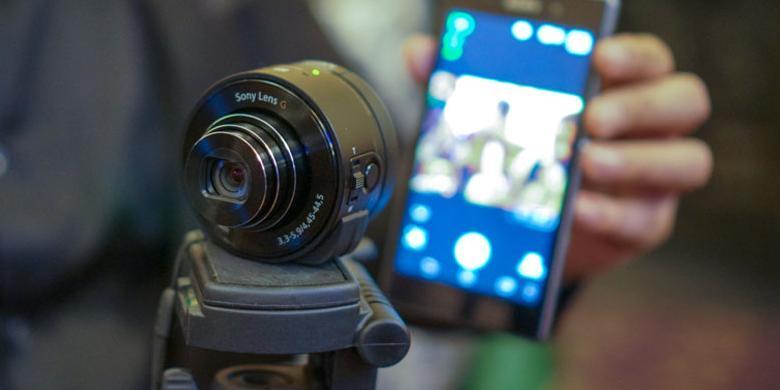 "Sony Smart Lens Bisa Gantikan ""Tongsis"""