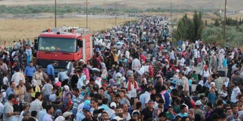 AS Akan Terima 5.000 hingga 8.000 Pengungsi Suriah Tahun 2016