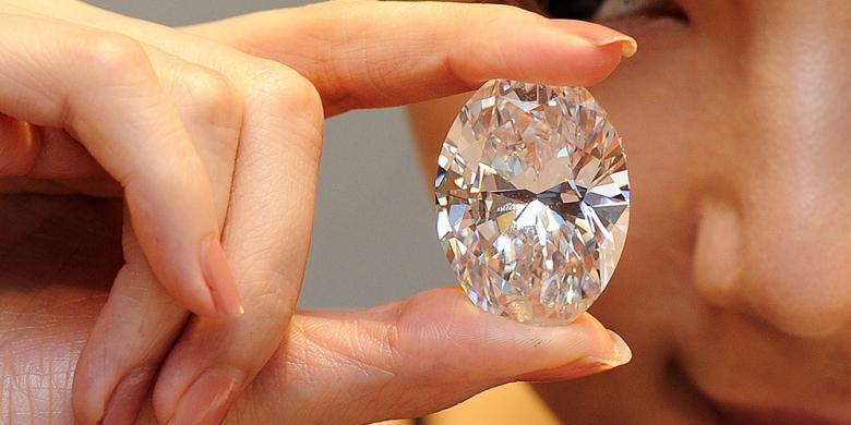 Berlian Putih Termahal
