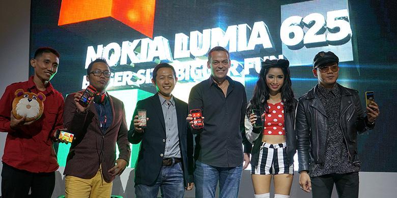 Lumia 625 Gratiskan Lagu Indonesia