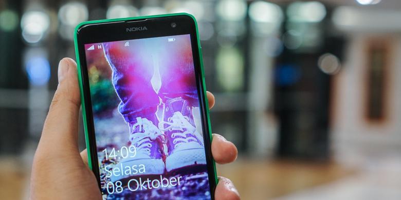 Tekno - Melihat Lebih Dekat Nokia Lumia 625