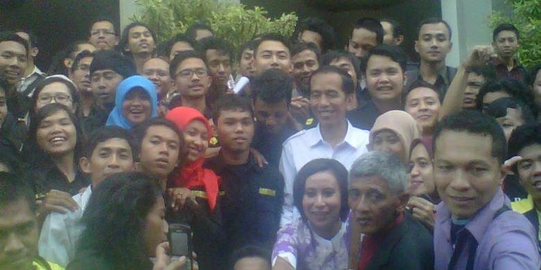 Kehutanan Ugm Jokowi Fakultas Kehutanan Ugm