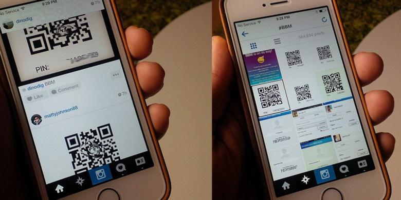 "Maraknya ""Tukar PIN BBM Di Instagram"