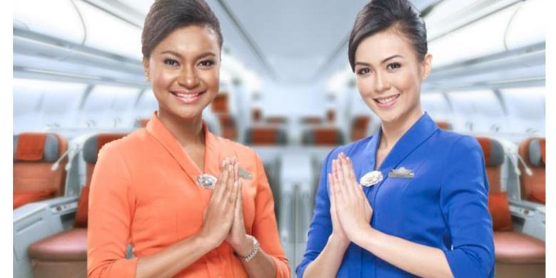 Tertarik Menjadi Pramugari Garuda Indonesia? Ini Syaratnya…