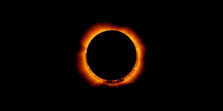 Tidak Ada Gerhana Matahari Cincin di Indonesia Besok, Ini Penjelasannya...