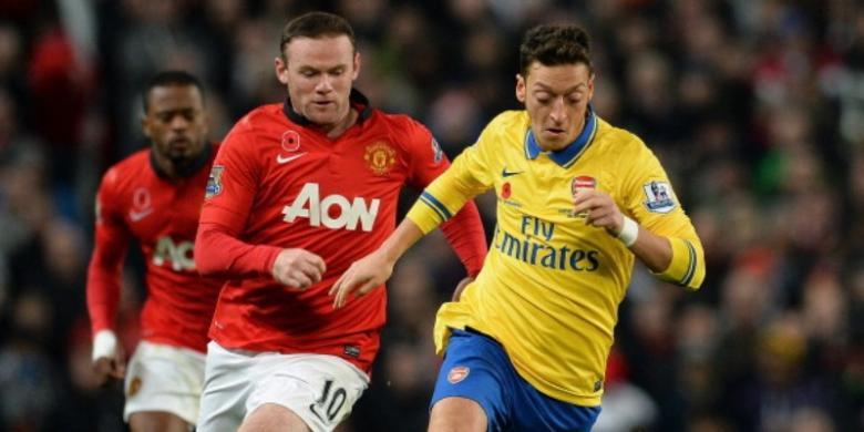 Rooney: Pemain Arsenal Posturnya Kecil
