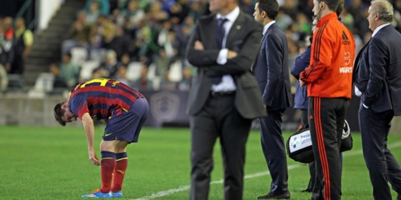 Barcelona Konfirmasi Agen Bola Mengenai Cedera Messi