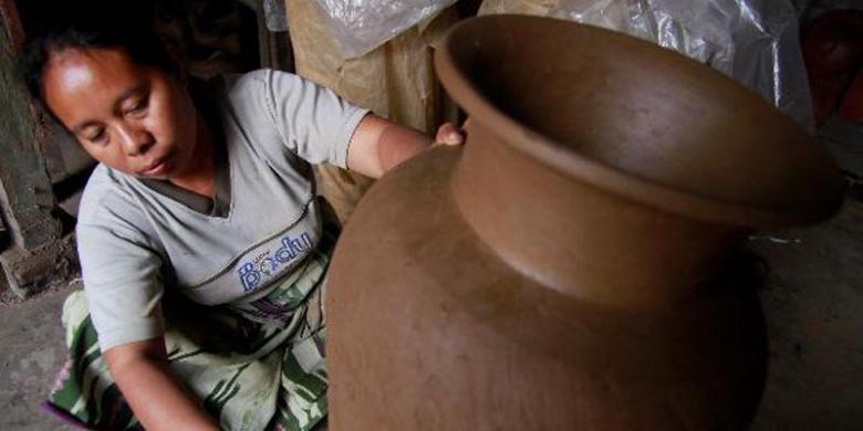 Gentong Di Bali Mahal, Mendi Ke Lombok