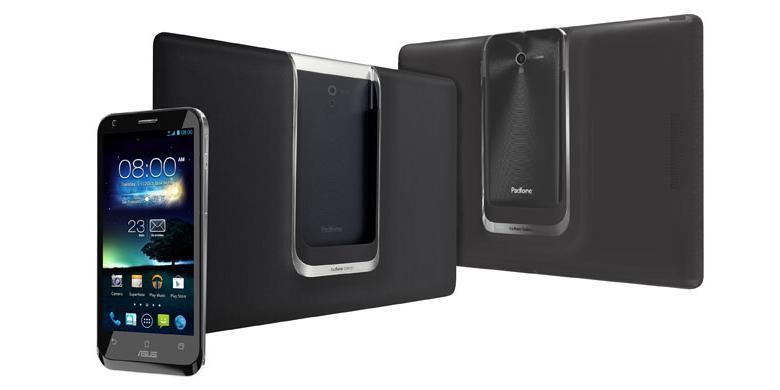 Padfone 2 sejatinya adalah smartphone Android yang bisa digabungkan dengan perangkat berlayar 10 inci terpisah sehingga menjelma menjadi tablet.
