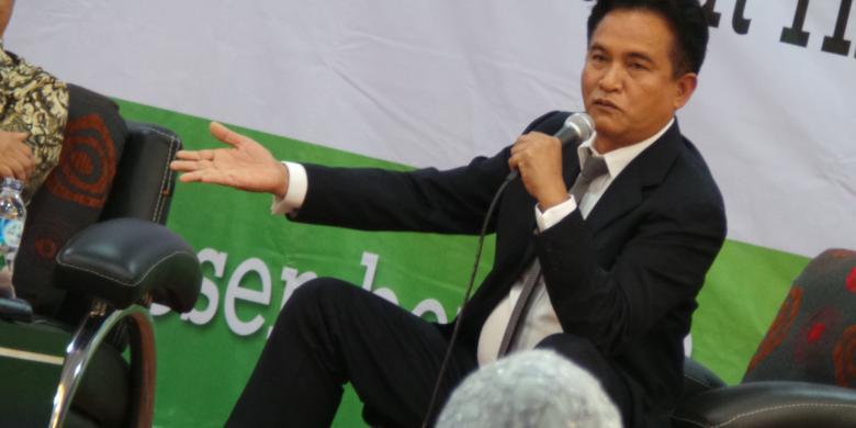 Yusril: Menkumham Tak Paham Tugasnya atau Ingin Lempar Tanggung Jawab ke Jokowi?
