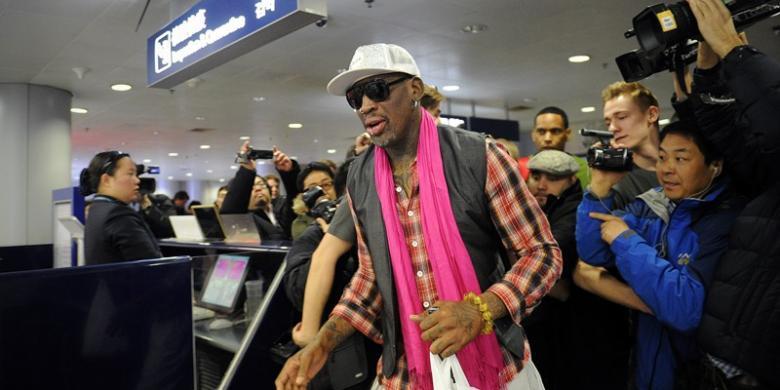 Dennis Rodman Dijatuhi Hukuman Lagi