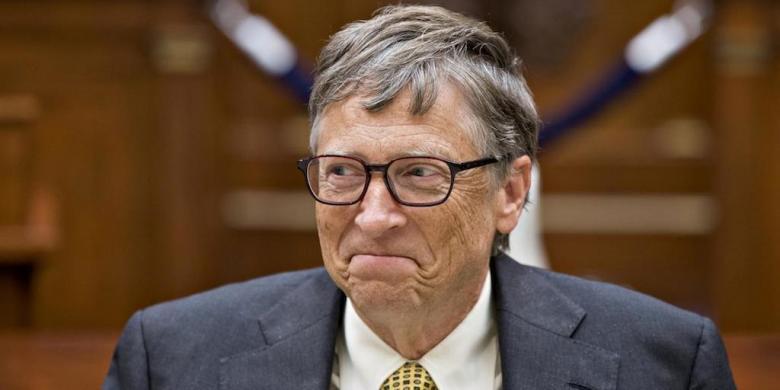 Mencatat Pakai Pulpen Dan Kertas, Bill Gates Dikagumi Miliarder