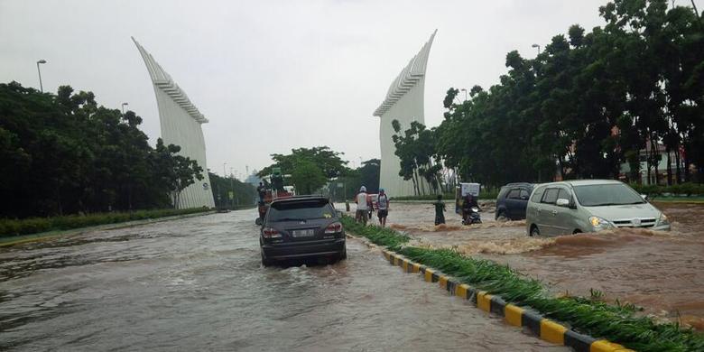 Foto Banjir Kebayoran Jakarta Selatan 2014