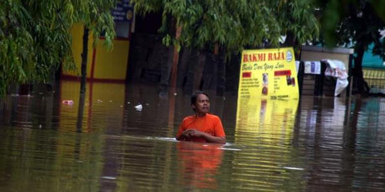 Foto Banjir Bekasi 2014 Jakarta
