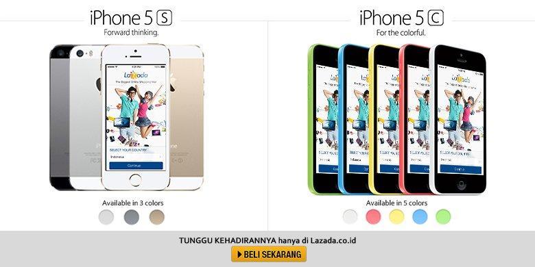 Besok IPhone 5s Amp IPhone 5c Resmi Dipasarkan Di Indonesia
