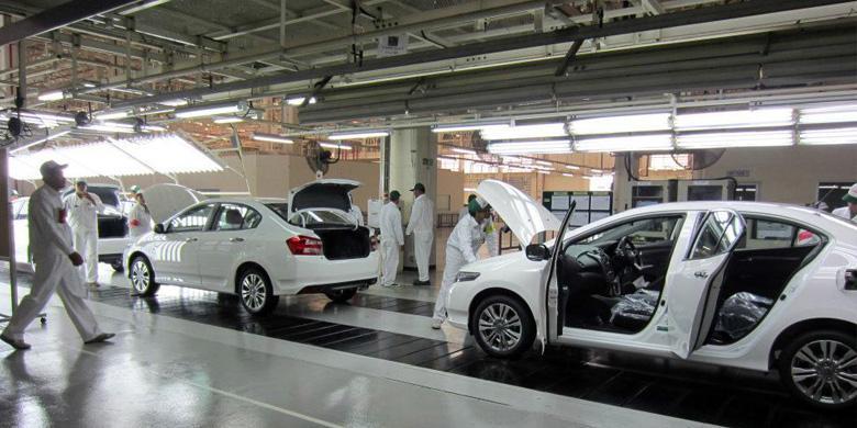 Produksi Honda Mobil Menyusut Di Thailand