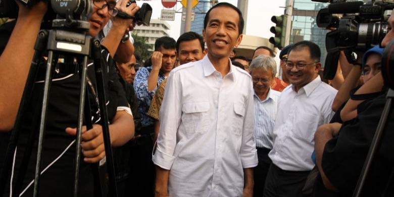 Jokowi Capres Populer dan Paling Disukai