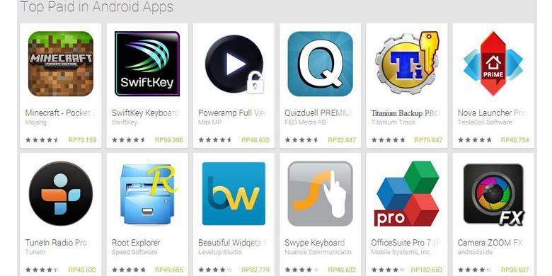 Akhirnya, Beli Aplikasi Android Bisa Pakai Rupiah | IT'S