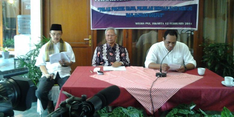 ... Kristen Indonesia untuk menggunakan hak pilihnya dalam Pileg 2014