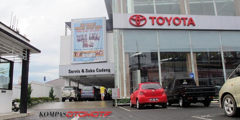 Jaringan Toyota Indonesia Selevel Di Atas Merek Lain