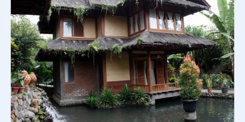 sumber alam garden of water beginilah resor wisata yang