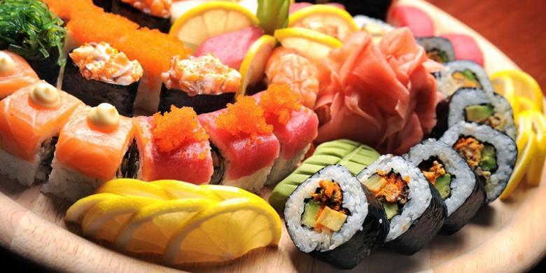 Bagaimana Cara Yang Benar Makan Sushi?