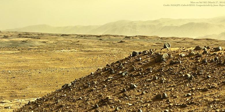 Sore Hari di Mars, Beginilah Suasananya…