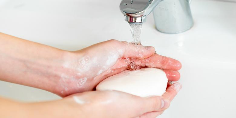 Soap bars Saving Many Germs?