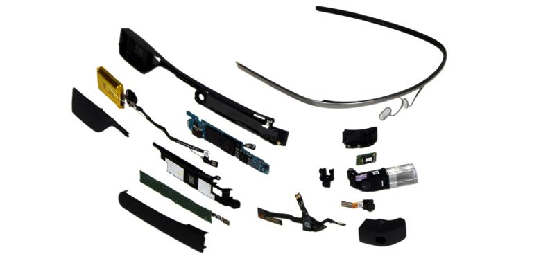 Google Glass inside