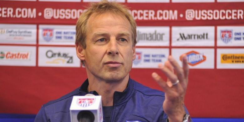 Klinsmann Masih Penasaran Latih AS  Kompas.com