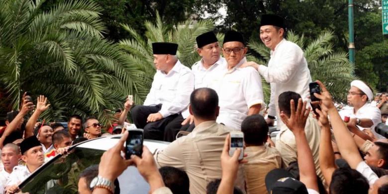 Ditanya Visi Misinya kalau Jadi Presiden, Ini Jawaban Prabowo
