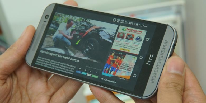 Sinyal 4G di smartphone berbasis android