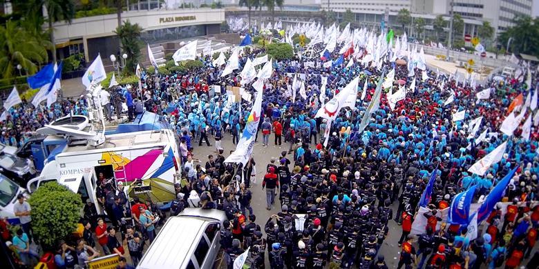 Pimpinan Buruh: Saya Jamin Tak Ada Satu Pun Pot Pecah Saat May Day