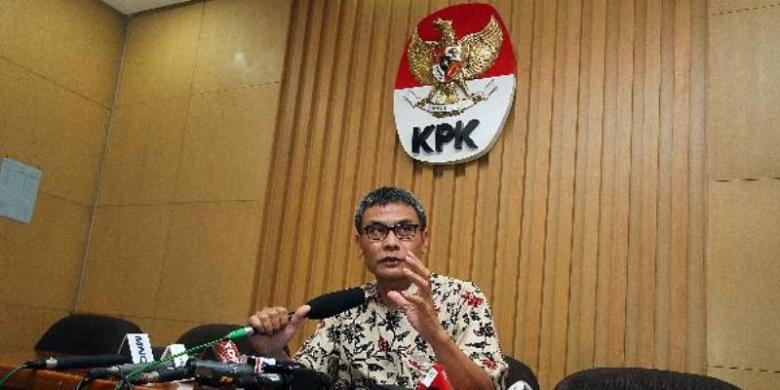 Ruki, Johan, Indriyanto Resmi Jabat Pimpinan KPK