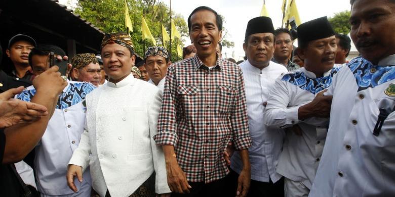 """Dialog Kadin, Jokowi Sebut """"Dua"""" Berulang-ulang - Kompas.com"""