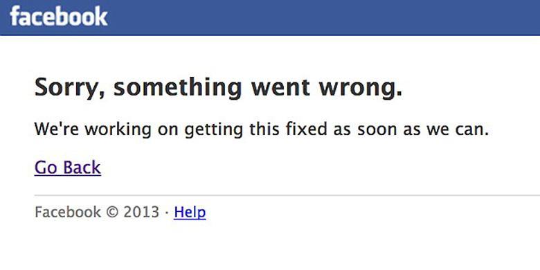 Gangguan Facebook Hari Ini Bukan yang Terlama
