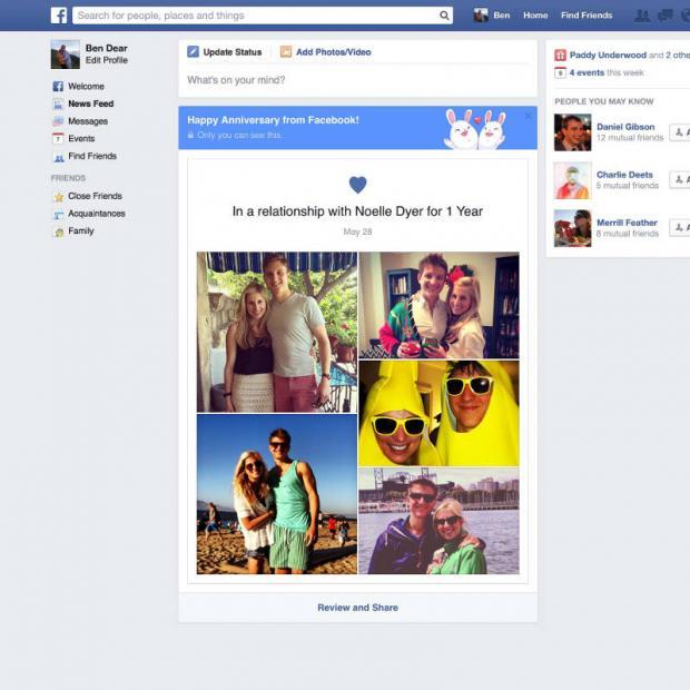 Fitur Anniversary Story di Facebook