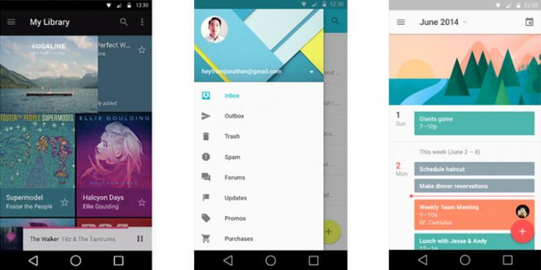 Google Umumkan Sistem Operasi Android L